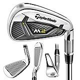 TaylorMade Golf- 2017 M2 Irons Graphite 6-PW Senior Flex