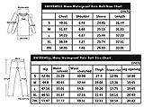 SWISSWELL Mens Rain Jacket & Trouser Suit Black, Black-Suit, Size X-Large
