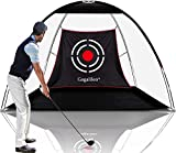 Gagalileo Golf Nets for Backyard Driving Golf Practice Net Golf Net for Indoor Use Golf Hitting Nets 10X7X6FT Home Driving Range with Target and Carry Bag