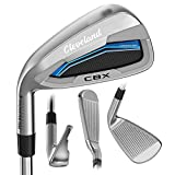 Cleveland Golf 2018 Men's Launcher CBX Iron Set (Set of 7 total clubs: 4-PW, Left Hand, Regular, Graphite)