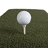 Real Feel Golf Mats Country Club Elite 4' X 4' Heavy Duty Indoor Outdoor Use (1)