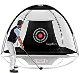 Galileo Golf Net Training Aids Hitting Practice Training Nets for Backyard Driving Range Indoor Use Golf Cage Tent Swing Training Aid with Target...