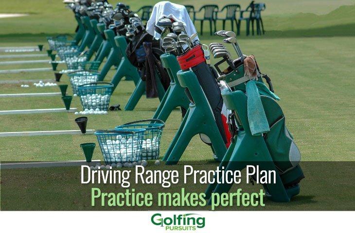 Driving range practice plan