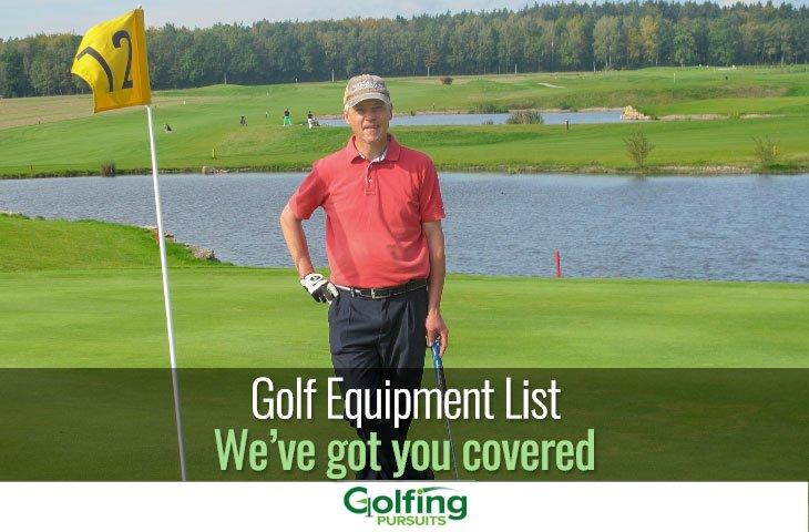 Golf equipment list