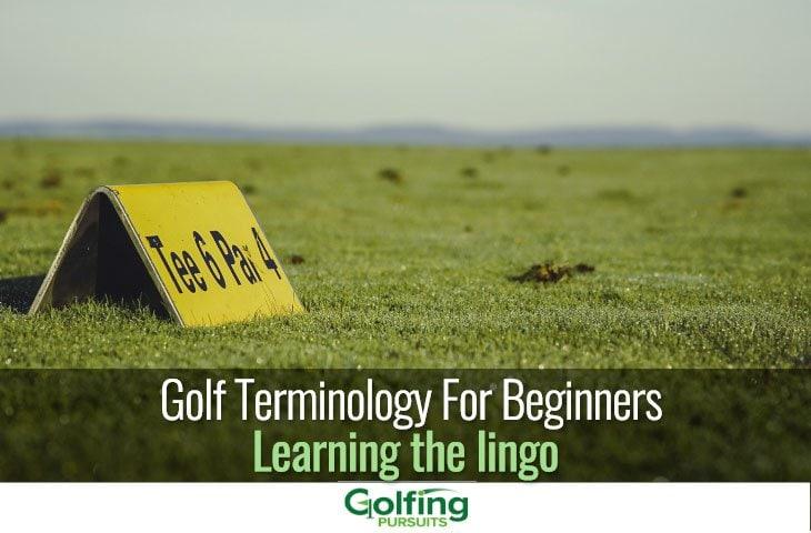 Golf terminology for beginners