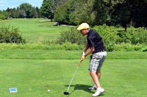 Left-handed golf tips