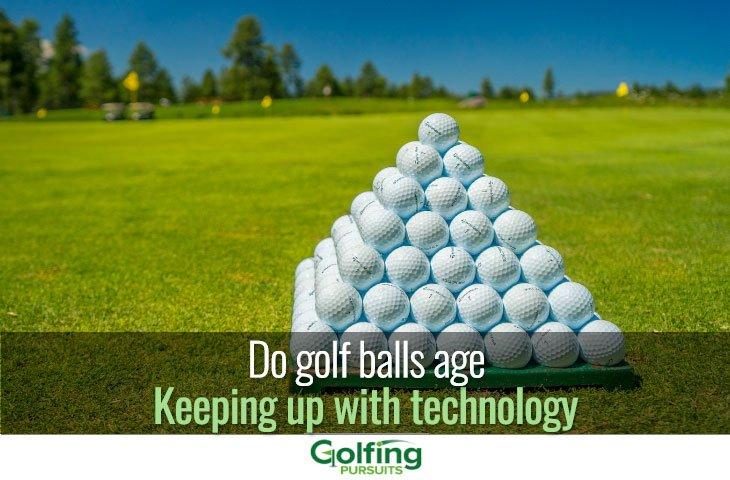 do golf balls age
