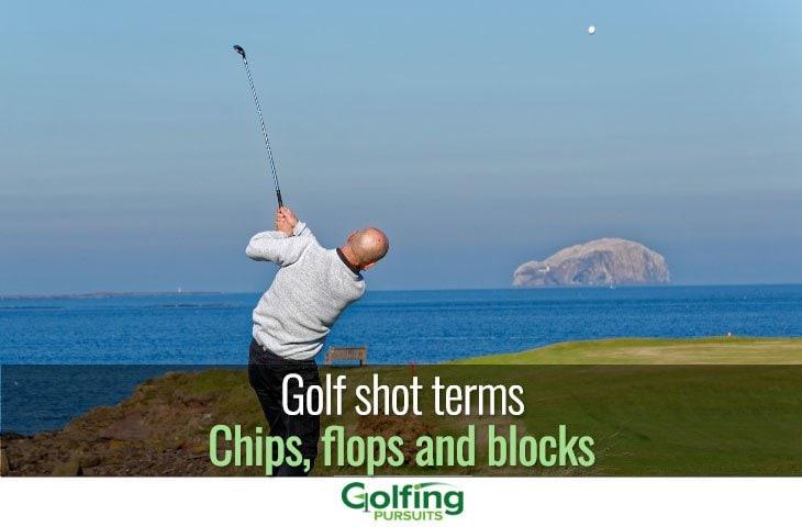 Golf shot terms